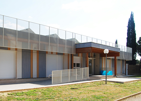 Buildings at the Grosseto Military Airport (credit: P. Altamura, 2019). agathón