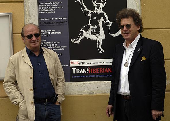 Franco Vaccari e Sergio Poggianella