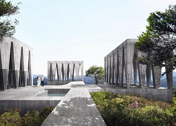 Barozzi-Veiga, Solo Houses, single-family housing project, Cretas, 2016 (credit: Barozzi-Veiga, www.archdaily.com/). AGATHÓN 08 | 2020