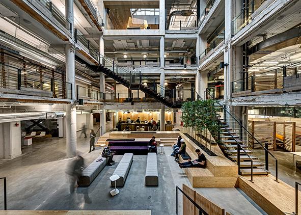 Neumann/Smith Architecture, Lowe Campbell Ewald Headquarters, Detroit, Michigan, 2014 (credit: J. Maconochie). AGATHÓN 08 | 2020