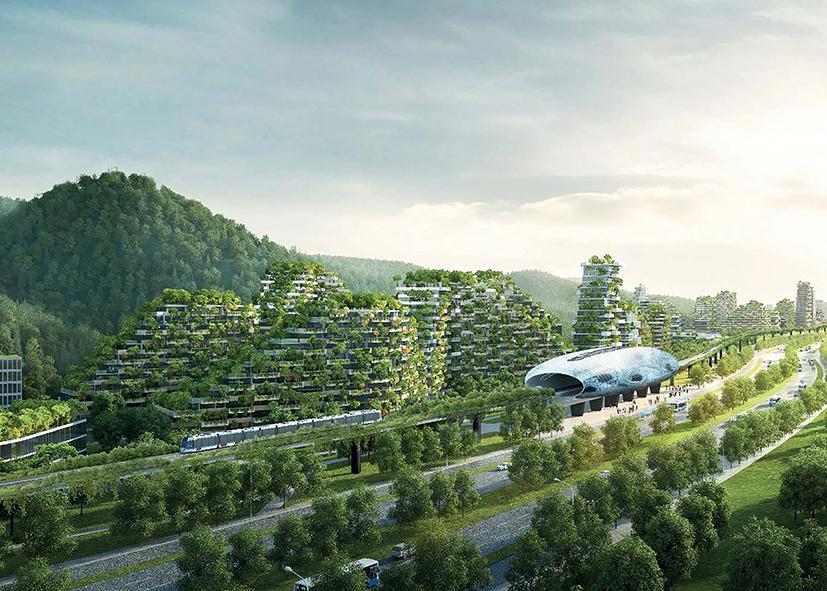La Forest City a Liuzhou (credit: Boeri studio)