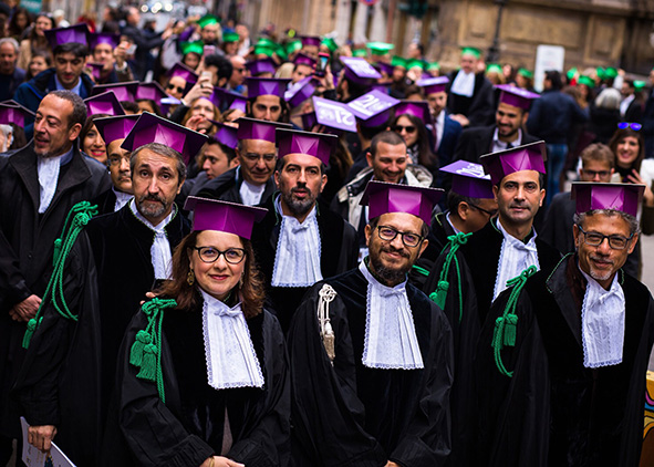 The Graduation Days of the University of Palermo are a good example of the openness of the University towards the city