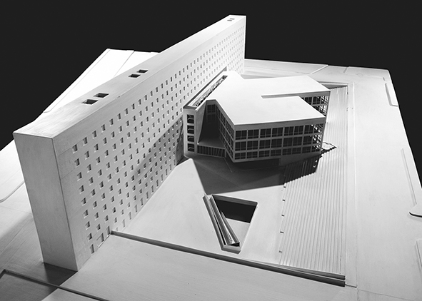- P. Culotta, G. Laudicina, G. Leone and T. Marra, Faculty of Architecture of Palermo. Model of the overall architectural design, 1989