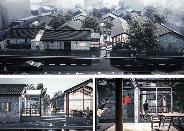 Addition, Nanjing, Da youfang Xiang (F. Hua, G. ren and y. wu, 2017)